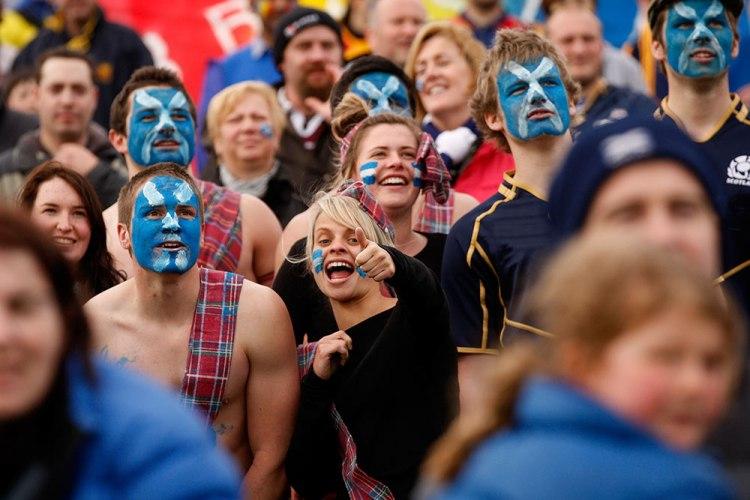 Tifosi scozzesi